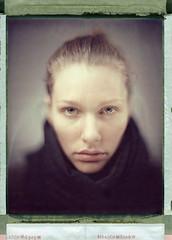 Alex (Braca Nadezdic) Tags: portrait color girl polaroid kodak bokeh 8x10 expired sinar 809 aeroektar polaroid8x10