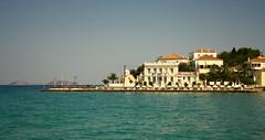 Summer days in Spetses island. (Teteel) Tags: spetsesisland summer sea buildings people greece