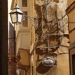 Rabat/Gozo street (Chris_1951) Tags: gozo rabat victoria light shadows powerlines street