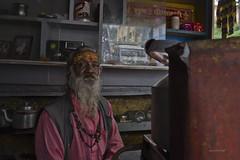 tea vendor (gurpreet_singh.) Tags: tea vendor shop almora man kettle chai india uttarakhand