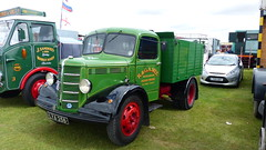 1949 Bedford OB SWB Wood sided Tipper Reg: LYA 258 (bertie's world) Tags: lincolnshire steam rally 2016 lincoln showground 1949 bedford ob swb wood sided tipper reg lya258