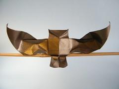 Little Owl - Riccardo Foschi (Rui.Roda) Tags: origami papiroflexia papierfalten bho mocho coruja hibou chouette eule little owl riccardo foschi