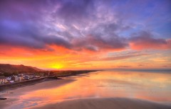 Pendine Sands, Wales, UK (Jeffpmcdonald) Tags: pendinesands carmarthenshire wales uk worldlandspeedrecord bluebird malcolmcampbell sunbeam350hp jgparrythomas babs amyjohnson nikond7000 jeffpmcdonald aug2016