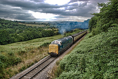 55022 (Mike 7416) Tags: br deltic 55022 royal scots grey greenend nymr
