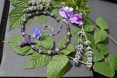 DSC_0121 (Chaumurky) Tags: jewelry jewellery bijoux fantasyjewelry wolf wolves wolfjewelry wolfnecklace semiprecious amethyst amethystnecklace amethystwolf loup collierloup