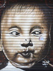 "Bad Day Faces (""ricardahannemann"") Tags: grafitty milan kids streetart mailand milano"
