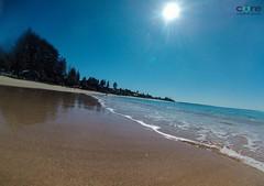 Paradise (core_personal_training) Tags: australia nsw centralcoast beach sand surf wave sea ocean blue gopro landscape nature sun water
