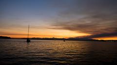 Seattle - Summer Sunset *** Explored 9/13/16 *** (NikonD3xuser1(Thanks for 1.6 million visits)) Tags: usa washington seattle sunset sailboat water sky nikon d810 evening