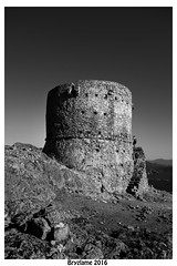 BRYZLAME-CAPO ROSSO 03-N&B (bryzlame - photo) Tags: bryzlame monochrome tour gnoise corse ouest sony rx 100 piana