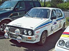 116 Citroen Visa Crono (1983) (robertknight16) Tags: citroen france 1980s visa crono gpb rallycar rallying donington ngf777y worldcars
