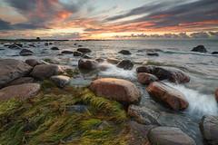 Yet Another Sunset (Lauri Leesmaa) Tags: 6d 1740mm lee nd 09 haida seascape sea beach sunset rocks meremisa summer estonia