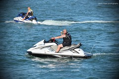 Bridlington - East Yorkshire (SteveH1972) Tags: canonef70200mmf28lusm canon700d jetski water sea coast seaside eastyorkshire yorkshire england uk britain europe outdoor outdoors 2016 northernengland resort august men man person people sit sitting seated