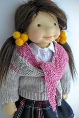 "KATRINA 20"" doll (Dearlittledoll) Tags: waldorf waldorfdoll steinerdoll dearlittledoll artdoll natural naturaldoll naturalkids naturaltoy naturalfiberartdoll organicdoll handmadedoll"