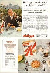 1964 Kelloggs Special K Advertisement National Geographic August 1964 (SenseiAlan) Tags: 1964 kelloggs special k advertisement national geographic august