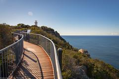 Cape Tourville-3 (Andrew Shepherd) Tags: capetourville nationalpark d610 day freycinet landscape lightroom nikon outdoor tasmania lighthouse tasmansea coastal boardwalk