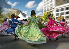 the dance (paulh192) Tags: celebration dance festival culture michigan blur motion grandrapids children girl spinning leica fiesta mexicana