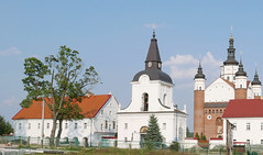 The Supral Orthodox Monastery (roomman) Tags: 2016 poland podlasie podlachia region east church tower building suprasl supral monastery orthodox biaystok bialystok art architecture style old facae