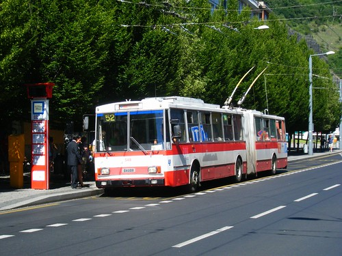 Usti nad Labem trolleybus No. 548