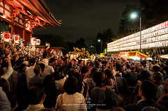 Sanja Matsuri, Summer Asakusa (Pop_narute) Tags: sanja matsuri asakusa summer festival tokyo japan life night japanese people street