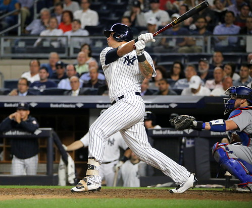 Yankees DH Gary Sanchez homers in the ei by apardavila, on Flickr