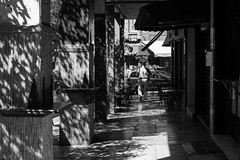 Street, Athens Greece (mafate69) Tags: eu ue europe greece grce athena athens athnes ville city candid rue reportage portrait photoreportage photojournalisme photojournalism street streetshot streetlevelphoto nb noiretblanc blackandwhyte bw light lumire morning exarchia