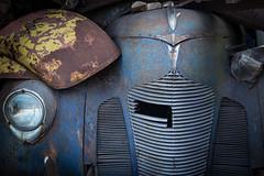 hudson (PenelopeEfstop) Tags: patina texture car junkyard abandoned vintage hudson classiccar rust scrapmetal