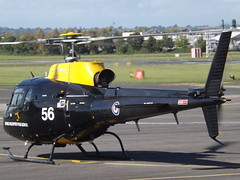 ZJ256 Aerospatiale Ecureuil AS350 Helicopter (Aircaft @ Gloucestershire Airport By James) Tags: gloucestershire airport zj256 aerospatiale squirre as350 helicopter egbj james lloyds