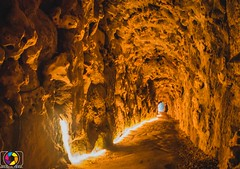 Tunel (brunomeida27) Tags: tunel lights light luz cavern caverna portugal demoniac devil cave lava