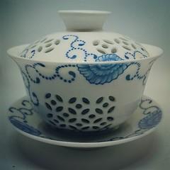 I really love rice pattern gaiwans  (teaformepleasenicole) Tags: tea
