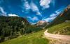 Gipfelweg (WALDEMAR MERGER   fotografie & design) Tags: blue sky green nature berg austria tirol österreich day fotograf cloudy path natur himmel grün alpen blau weg merger pfad waldemar dillingen imst muttekopf hochimst paxx waldemarmerger