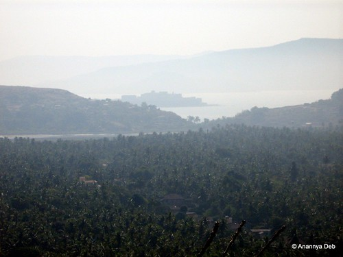 Janjira Island (from top of a hill), January 2007