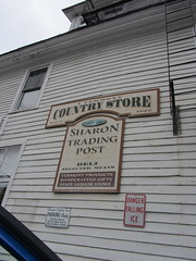 Sharon Trading Post Sign (amyboemig) Tags: store vermont post sharon trading vt 251