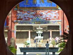 Dafo Si, Great Buddha Temple, Zhangye, Gansu (Sekitar) Tags: china temple buddha silkroad gansu entrace dafo seidenstrasse zhangye routedelasoie earthasia