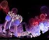 Kuwait Towers - Celebration (ZiZLoSs) Tags: fireworks towers fisheye kuwait aziz ابراج الكويت نارية zizloss العاب ألعاب canoneos7d abdulazizalmanie عبدالعزيزالمنيع