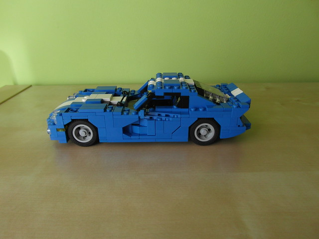 car model lego dodge viper moc