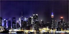 Friday Night Lights (Mambo'Dan) Tags: nyc newyorkcity sky skyline night lights nightlights manhattan shoreline nightlife skycrapers thebigapple thecitythatneversleeps mightline