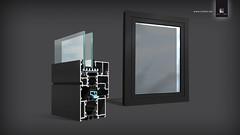 CEZAM (Strates - Agence de publicite) Tags: illustration 3d fenêtre strates réalisation profilé cezam