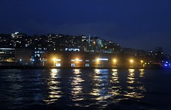 night in istanbul (Seda Misilliolu) Tags: city light sea sky night canon turkey eos tour live istanbul 600d