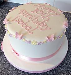 Pastel Pretty Birthday Cake
