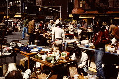 NYC April 1980 pic013 (streamer020nl) Tags: street new york nyc newyork 2000 market fair flea avenue sixth 1980 fleamarket americas 1000 6th annex 26th