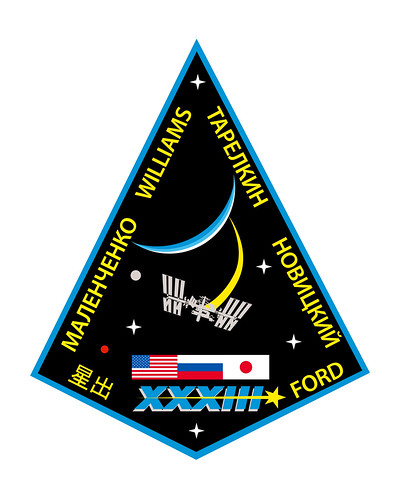 Expedition 33 Crew Patch