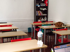 Classroom before - chiew
