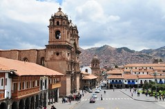 Central Cusco. (john a d willis) Tags: peru inca cusco puma spanishcolonial lacompania plazadearmes