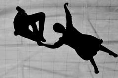 me with you (e_lisewin) Tags: white black milan art architecture 50mm arte milano hangar floating bn architect bianco bicocca nero architettura cubo aria controluce esposizione plastica architetto galleggiare trasparenza membrana gentechegalleggia tomssaraceno onspacetimefoam qualcosadiforte