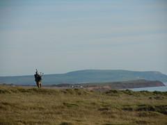 Dudelsackspieler an der Kste (LMSE1987) Tags: uk england island insel isleofwight gb chale isle freshwater freshwaterbay