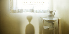 "The Visitor (Paulo ""Santa Cruz"" Dias) Tags: old brown window alien castanho ufo panic mito afraid et fantastico ovni medo extraterrestre monocolor cincia fico cientific"