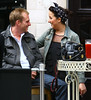 Natalie Cassidy and boyfriend Adam Cottrell