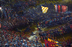 Altdorfer, The Battle of Issus, detail of clash