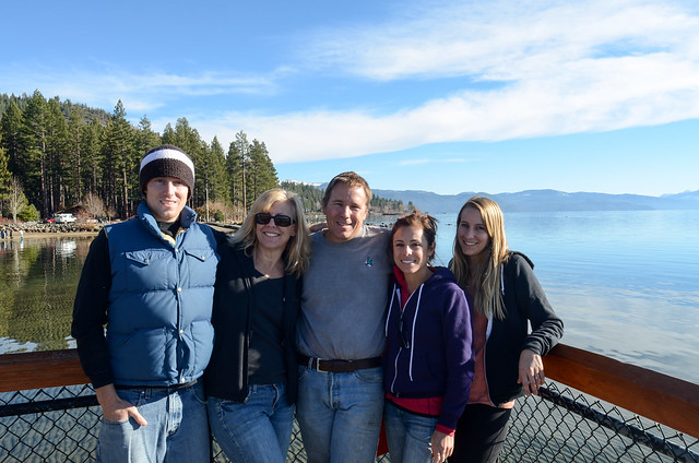 Streeters on Lake Tahoe