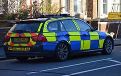 Essex Police / BMW 330d / Roads Policing Unit / NT06 / EU59 HVJ (Chris' 999 Pics) Tags: old uk blue light england woman man speed lights bill pc nikon bars order cops united nick blues kingdom cop copper and service law enforcement breakers emergency 112 siren coppers arrest policeman 999 constable 991 twos strobes policing lightbars d3200 rotators leds
